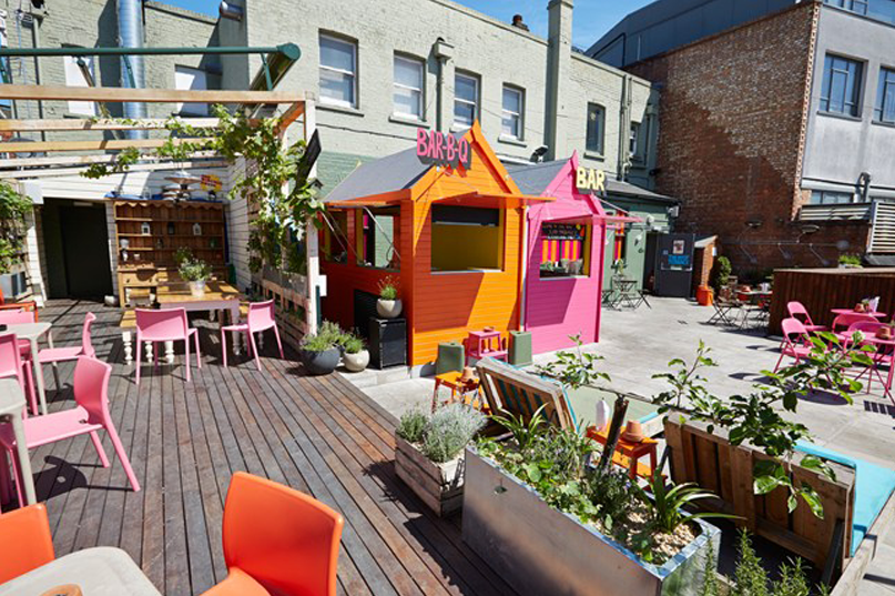 Best Rooftop Bars Around London - big chill